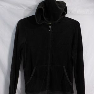 Juicy Couture, large, zip velour exercise hoodie